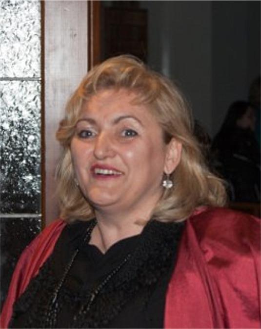 Chorsolistin Martina Strauß